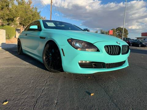 2012 BMW 6 Series for sale at Boktor Motors in Las Vegas NV