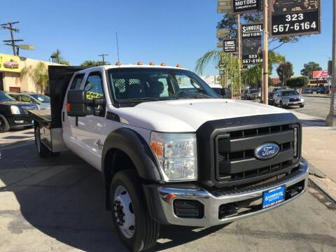 2011 Ford F-550 Super Duty for sale at Sanmiguel Motors in South Gate CA