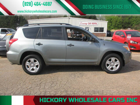 2006 Toyota RAV4 for sale at Hickory Wholesale Cars Inc in Newton NC