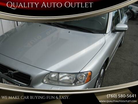 2008 Volvo S60 for sale at Quality Auto Outlet in Vista CA