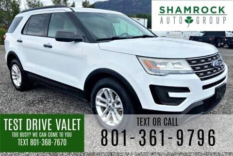 2017 Ford Explorer for sale at Shamrock Group LLC #1 in Pleasant Grove UT