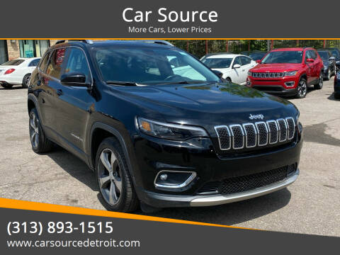 2019 Jeep Cherokee for sale at Car Source in Detroit MI