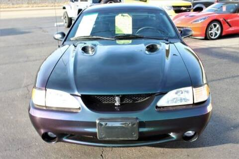 1996 Ford Mustang SVT Cobra for sale at Cj king of car loans/JJ's Best Auto Sales in Troy MI