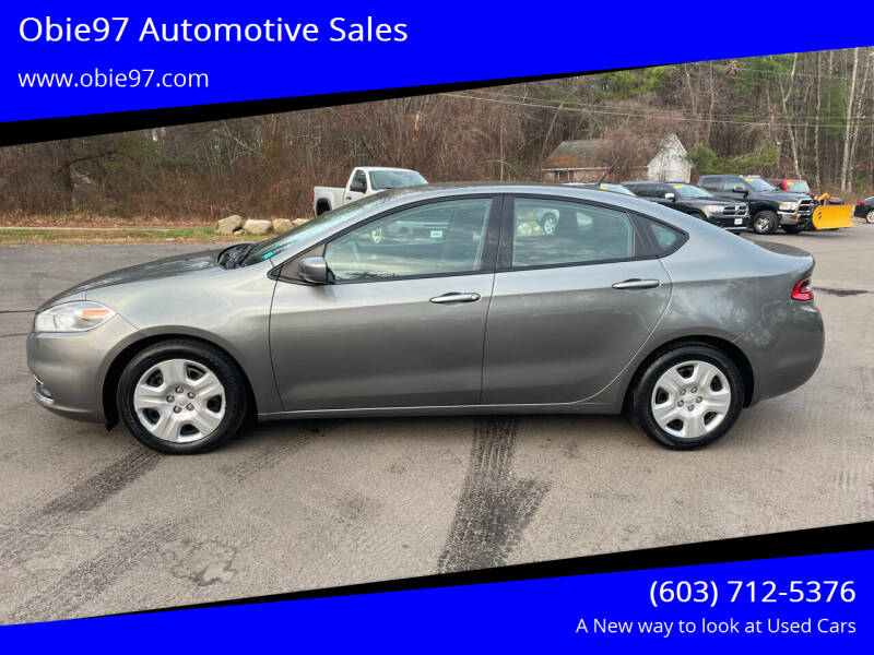 2013 Dodge Dart for sale at Obie97 Automotive Sales in Londonderry NH