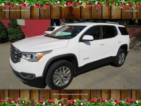 2017 GMC Acadia for sale at Arnold Motor Company in Houston PA