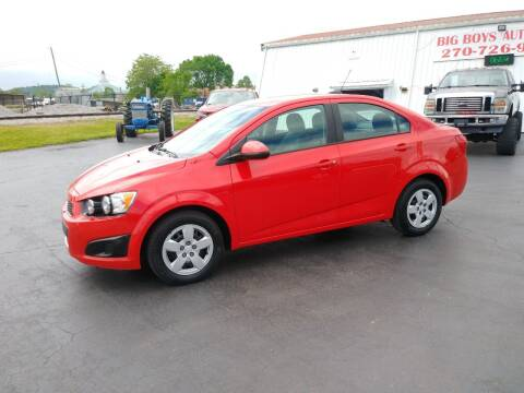 2016 Chevrolet Sonic for sale at Big Boys Auto Sales in Russellville KY