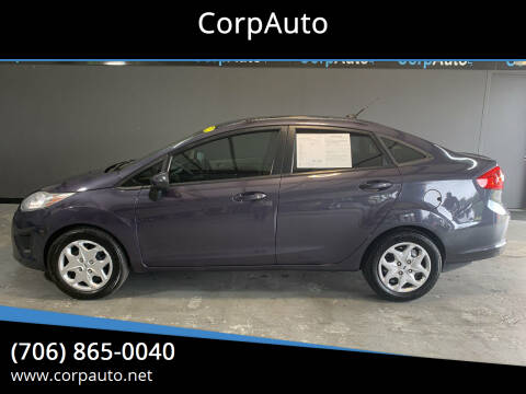 2012 Ford Fiesta for sale at CorpAuto in Cleveland GA
