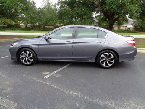 2016 Honda Accord for sale at BALKCUM AUTO INC in Wilmington NC