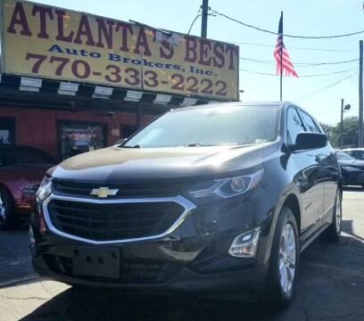 2018 Chevrolet Equinox for sale at Atlanta's Best Auto Brokers in Marietta GA