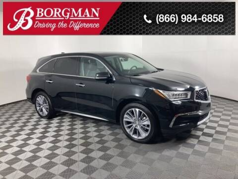 2017 Acura MDX for sale at BORGMAN OF HOLLAND LLC in Holland MI