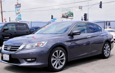 2014 Honda Accord for sale at Luxor Motors Inc in Pacoima CA