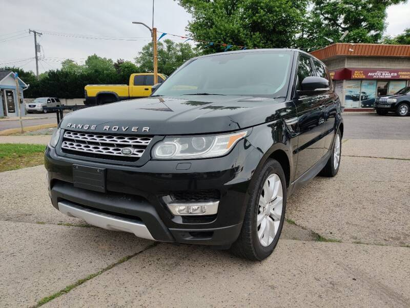 2014 Land Rover Range Rover Sport for sale at Lamarina Auto Sales in Dearborn Heights MI