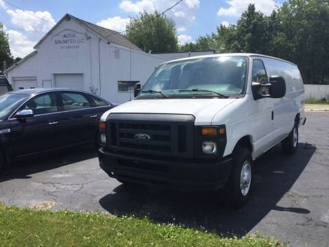 2012 Ford E-Series Cargo for sale at Autos Unlimited, LLC in Adrian MI