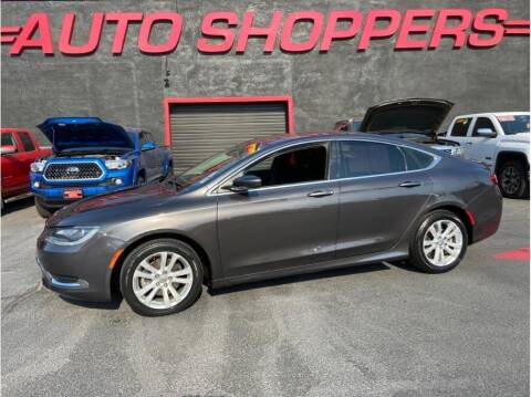2015 Chrysler 200 for sale at AUTO SHOPPERS LLC in Yakima WA