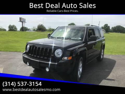 2012 Jeep Patriot for sale at Best Deal Auto Sales in Saint Charles MO