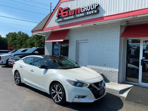 2016 Nissan Maxima for sale at AG AUTOGROUP in Vineland NJ