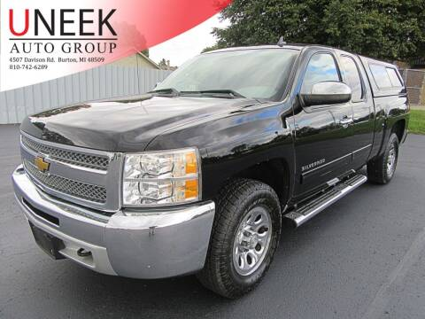 2012 Chevrolet Silverado 1500 for sale at Uneek Auto Group LLC in Burton MI
