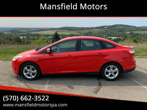 2014 Ford Focus for sale at Mansfield Motors in Mansfield PA