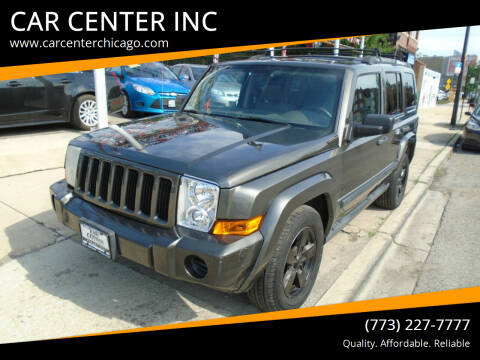 2006 Jeep Commander for sale at CAR CENTER INC in Chicago IL
