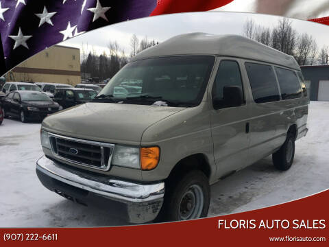2005 Ford E-Series Wagon for sale at FLORIS AUTO SALES in Anchorage AK