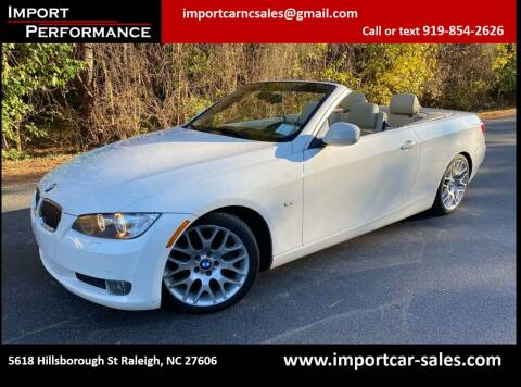 2010 BMW 3 Series for sale at Import Performance Sales in Raleigh NC