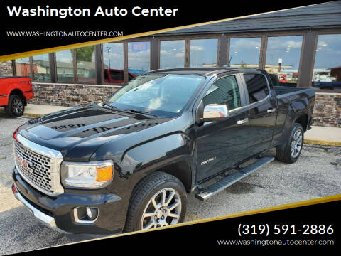 2018 GMC Canyon for sale at Washington Auto Center in Washington IA