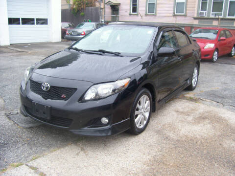 2010 Toyota Corolla for sale at Dambra Auto Sales in Providence RI