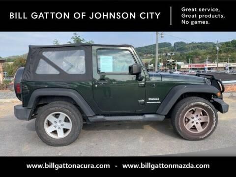 2011 Jeep Wrangler for sale at Bill Gatton Used Cars - BILL GATTON ACURA MAZDA in Johnson City TN