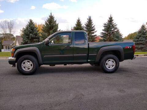 2005 Chevrolet Colorado for sale at Thurk Bros Auto in St Bonifacius MN