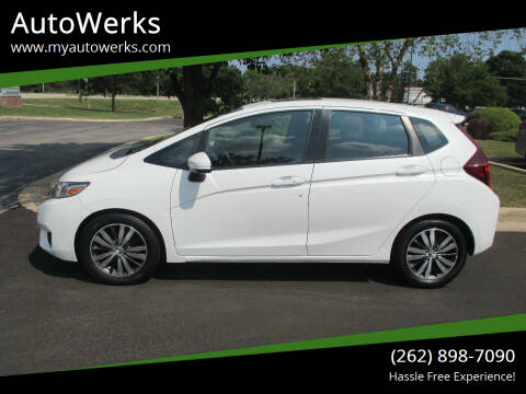 2015 Honda Fit for sale at AutoWerks in Sturtevant WI