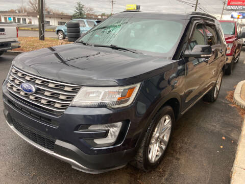 2017 Ford Explorer for sale at 222 Newbury Motors in Peabody MA