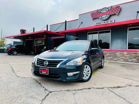 2014 Nissan Altima for sale at Chema's Autos & Tires in Tyler TX
