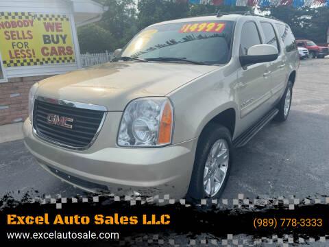 2008 GMC Yukon XL for sale at Excel Auto Sales LLC in Kawkawlin MI