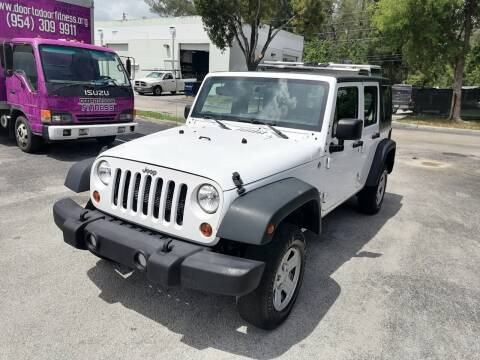 2015 Jeep Wrangler Unlimited for sale at Best Price Car Dealer in Hallandale Beach FL