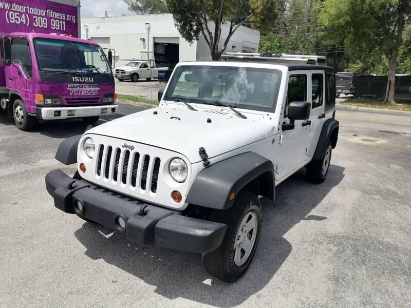 2015 Jeep Wrangler Unlimited for sale at Best Price Car Dealer in Hallandale Beach FL