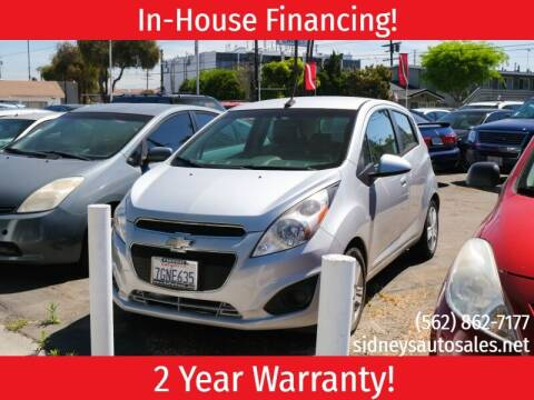 2013 Chevrolet Spark for sale at Sidney Auto Sales in Downey CA