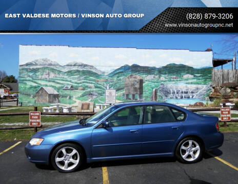 2007 Subaru Legacy for sale at EAST VALDESE MOTORS / VINSON AUTO GROUP in Valdese NC