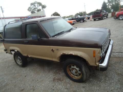 1988 Ford Bronco II for sale at Marshall Motors Classics in Jackson Michigan MI