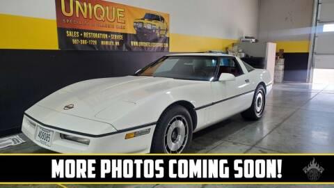 1984 Chevrolet Corvette for sale at UNIQUE SPECIALTY & CLASSICS in Mankato MN