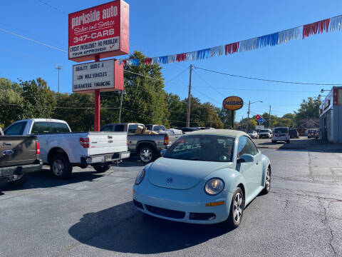 2006 Volkswagen New Beetle Convertible for sale at Parkside Auto Sales & Service in Pekin IL