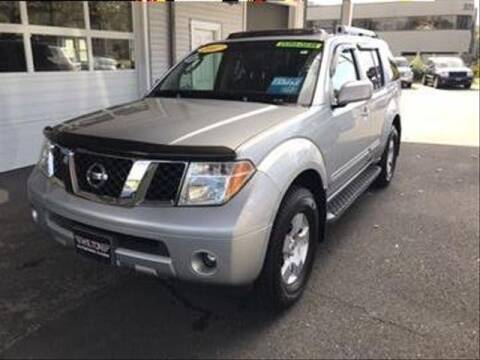 2007 Nissan Pathfinder for sale at Wilton Auto Park.com in Wilton CT