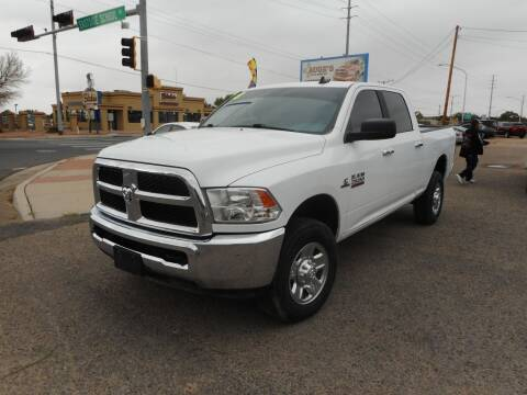 2018 RAM Ram Pickup 2500 for sale at AUGE'S SALES AND SERVICE in Belen NM
