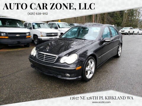 2005 Mercedes-Benz C-Class for sale at Auto Car Zone, LLC in Kirkland WA