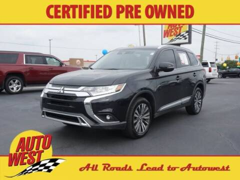 2020 Mitsubishi Outlander for sale at Autowest of Plainwell in Plainwell MI