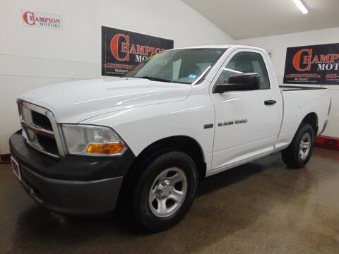 2011 RAM Ram Pickup 1500 for sale at Champion Motors in Amherst NH