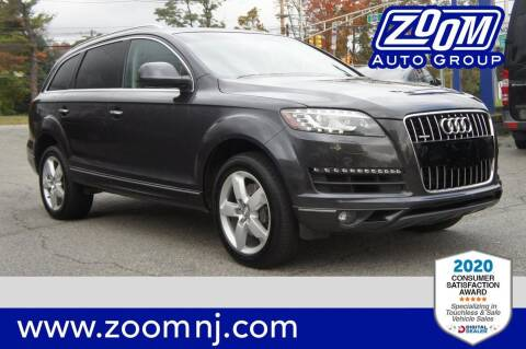 2014 Audi Q7 for sale at Zoom Auto Group in Parsippany NJ