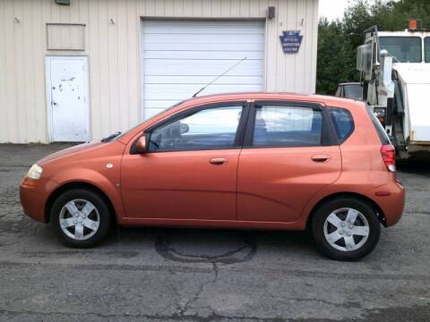 2007 Chevrolet Aveo for sale at On The Road Again Auto Sales in Lake Ariel PA