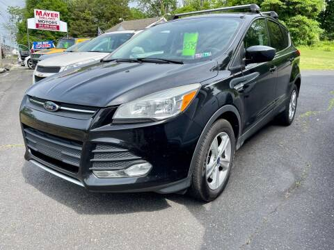 2014 Ford Escape for sale at Mayer Motors of Pennsburg in Pennsburg PA