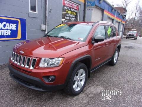 2012 Jeep Compass for sale at Allen's Pre-Owned Autos in Pennsboro WV