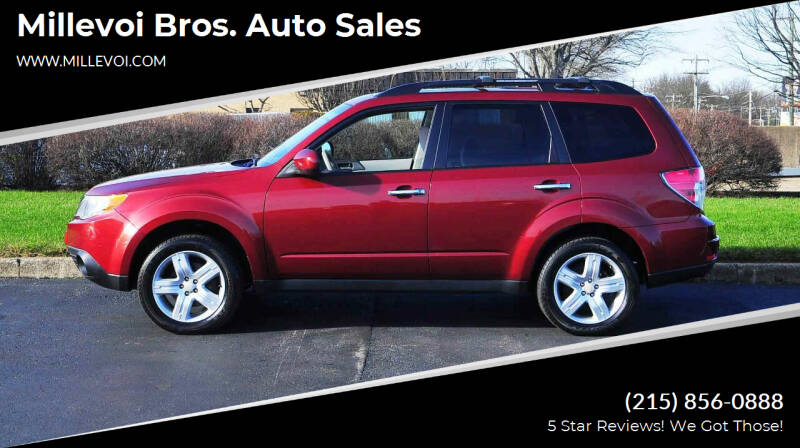 2010 Subaru Forester for sale at Millevoi Bros. Auto Sales in Philadelphia PA